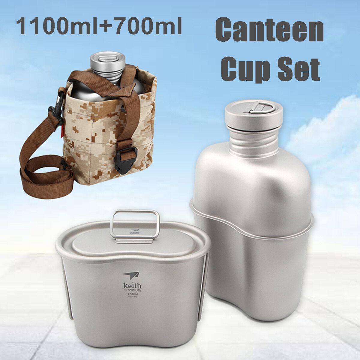 Ejército Titan cantina botella de agua taza  olla Cámping senderismo herramientas,  Las ventas en línea ahorran un 70%.