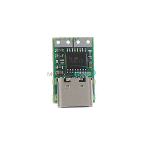 USB-C Type-C PD2.0 3.0 to DC USB Fast Charge Trigger Poll Detector ZYPDS ZY12PDN