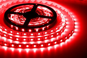 5050 red led strip lights 300 leds non waterproof 12v flexible 5m 5050 red led strip lights 300 leds non waterproof 12v flexible 5m for indoors aloadofball Gallery