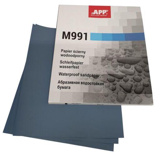 1,5,10,25 Körnung P1000 Nassschleifpapier//Schleifbogen//Schleifpapier Wasserfest
