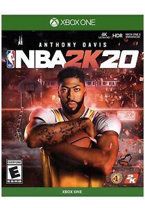 NEW NBA 2k20 Microsoft Xbox One XB1 Brand New Factory Sealed FAST SHIPPING