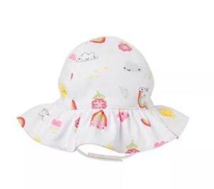 NWT Gymboree Spring Smiles Floral Flower Sun Hat Bucket Hat Baby Girls 3 6 month