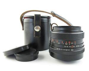 Fur-M42-Carl-Zeiss-Jena-red-MC-Flektogon-2-4-35-Objektiv-lens-case