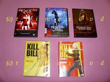 5 DVDs_Kill Bill 1 & Kill Bill 2 & Resident Evil & RE Apocalypse & RE Extinction