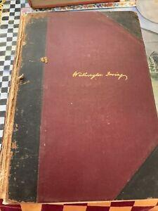 Washington Irving Astoria Oliver GoldSmith VOLUME Vll Early Edition New York Put