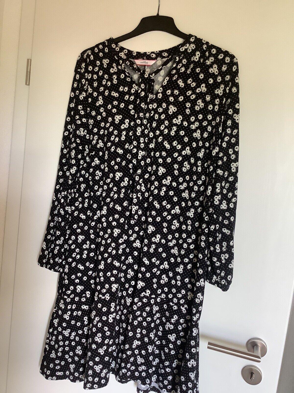 Kleid Essentials NEU 44/46 Mit Volant