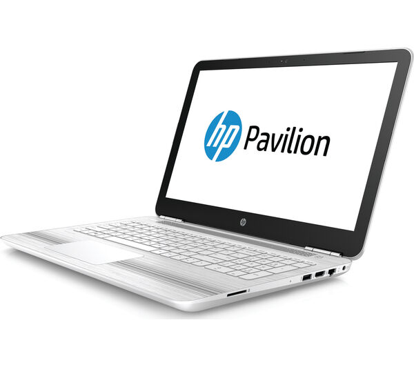 "HP Pavilion 15-au072sa 15.6"" Laptop White 8 GB RAM 1 TB HDD Windows 10"