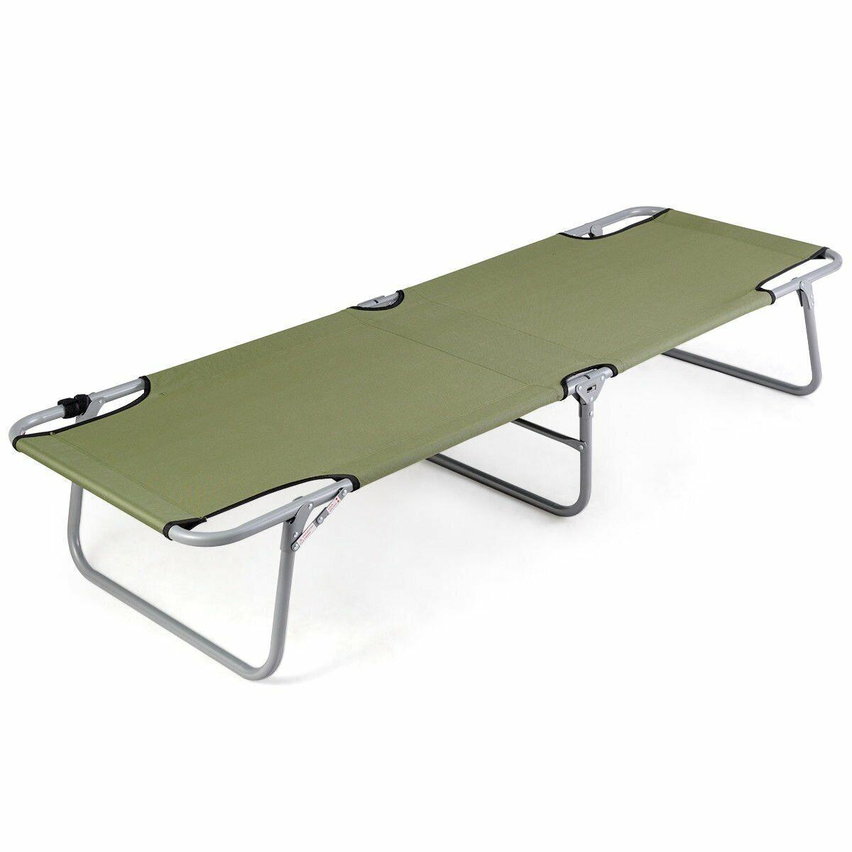Portable Foldable campeggio Bed Army Military campeggio Cot