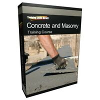 Concrete Brick Laying Bricklayer Training Book Manual