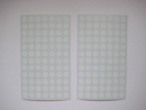 Permanent * 10mm Vinyl Colour Code dot  Stickers Self-Adhesive