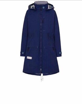 Lazy Jacks Women/'s LJ67P Longline Waterproof Printed Raincoat