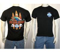 2009 Pro Bowl Hawaii Nfl Football Surfboard Black T-shirt Tee Shirt Adult Sm