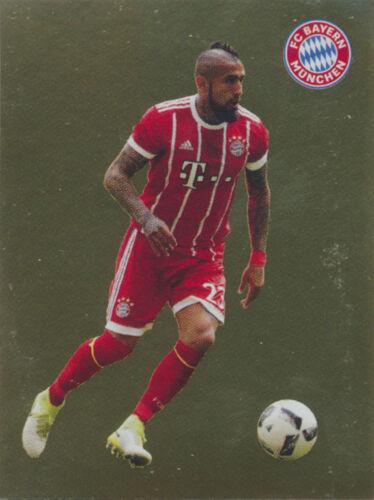Panini FC Bayern München 2017//18 BAM1718 Sticker 121 Arturo Vidal