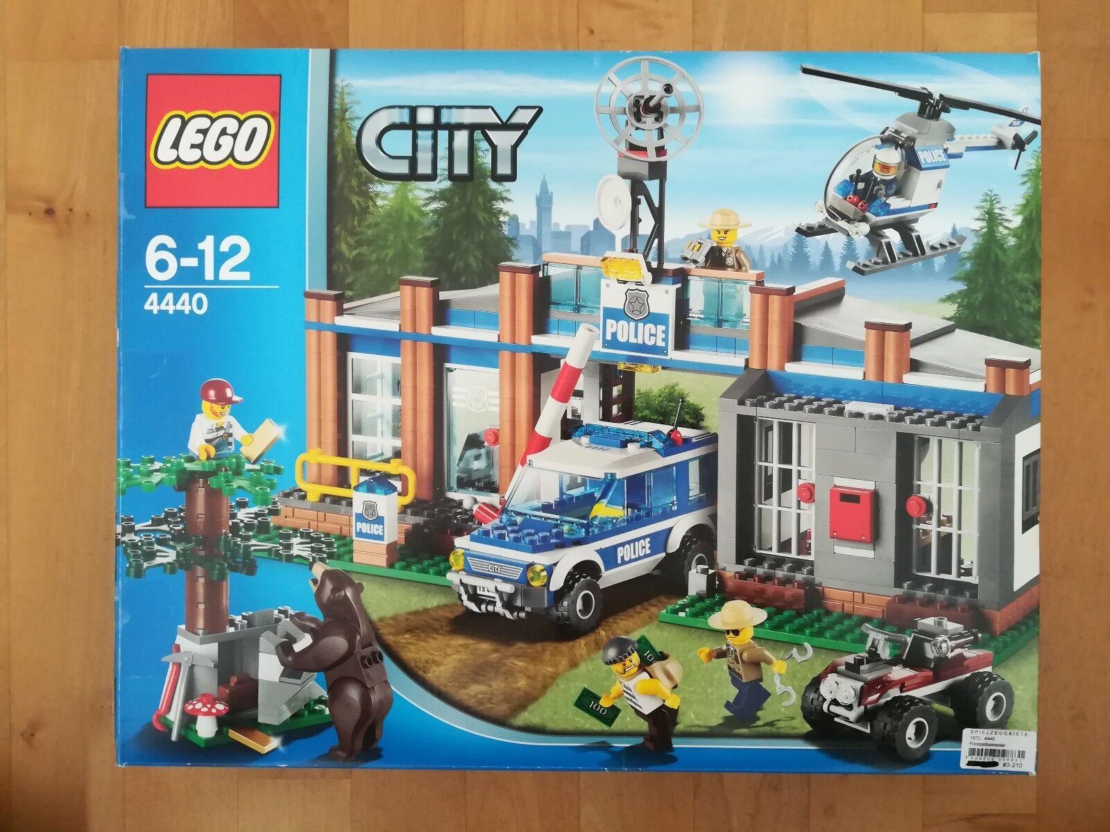 LEGO City Forstpolizeirevier (4440) Top-Zustand mit Bauanleitungen