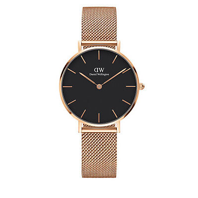 NEW Daniel Wellington DW00100161 Melrose Watch Rose