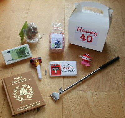 Geschenkideen 40