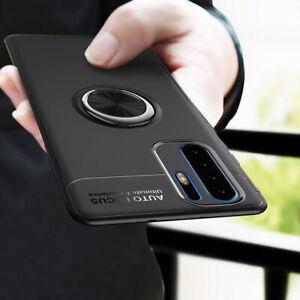 Pour-Huawei-P30-Pro-Y7-Pro-2019-magnetique-Hybride-Bague-Support-TPU-Metal-Case-Cover