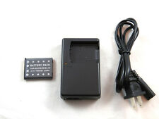 Charger K-BC63 D-BC63A and Battery D-Li63 for Pentax Optio M40 W30 LS1000 LS1100