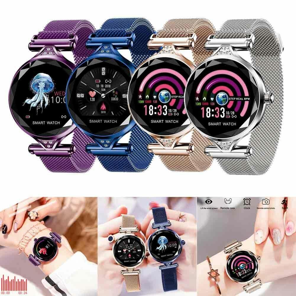 Women&Girl Waterproof Bluetooth Smart Watch Ladies Phone Mat