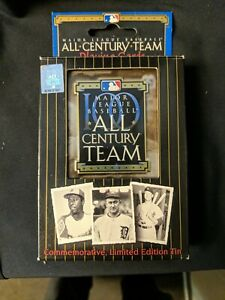 M. L. Baseball All Century Team Playing Cards Comm.  Limited Edition Tin