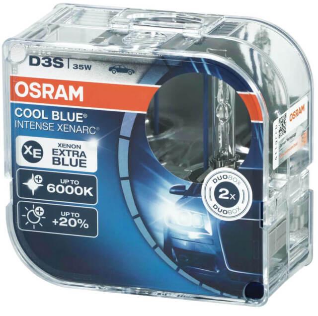 2X D3s Xenon Lamp Burner Osram Cool Blue Intense Headlight Xenarc Bulbs Since