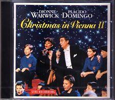Placido DOMINGO: CHRISTMAS IN VIENNA II Dionne WARWICK CD Stille Nacht Smile NEU