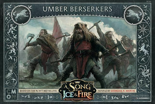 A Song Of Ice And Fuego Fuerte Umber Berserkers (Inglés) Cmon Westeros Berserker
