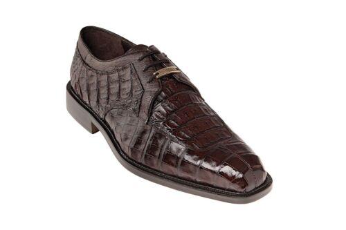 Belvedere Dress Business Shoes Susa Crocodile Brown P32