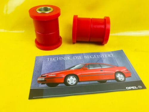 NEU Satz = 2x Buchse Hinterachse Opel Calibra Vectra A Dämpfungsbuchsen Satz 4x4