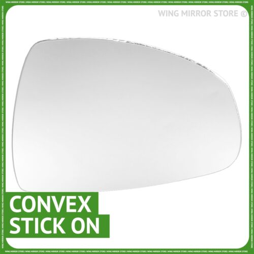 Right hand driver side for Audi A1 2010-2018 wing mirror glass
