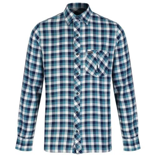 £ 30.00 prezzo consigliato Regatta Da Uomo Motivo Check lazka Coolweave Camicia in cotone