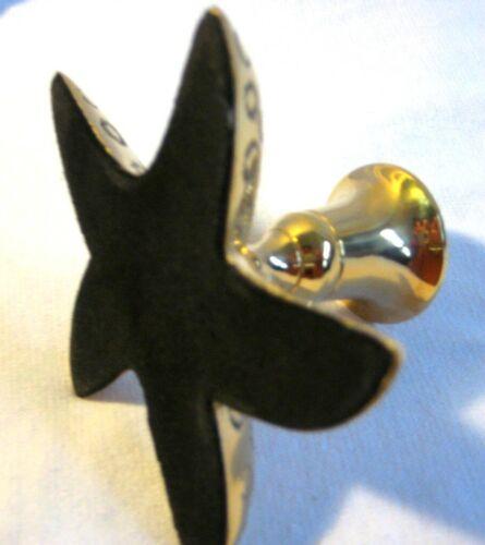 Maritime chandelier en laiton massif-étoile de mer 15 cm