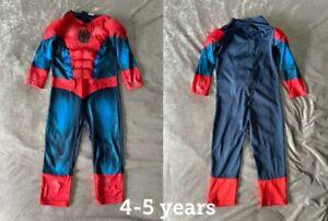 Marvel Spiderman Costume Fancy Dress 4-5 years