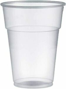 1000-Verre-Rigide-Plastique-400-cc-pour-Eau-Boissons-Cocktail-Jus-Jus