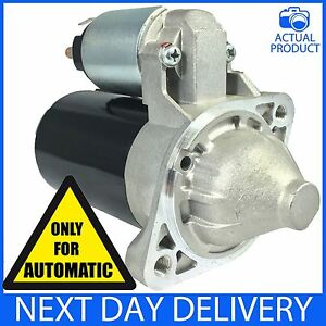 Details about FITS KIA RIO MK2 1 4 16V PETROL 2005-2011 AUTOMATIC BRAND NEW  STARTER-MOTOR AUTO