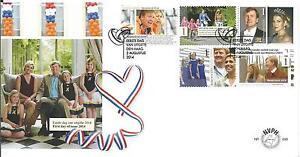 Nederland-FDC-699-12-1-2-jaar-Huwelijk-Koning-amp-Koningin