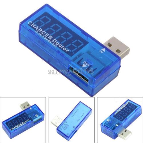 5PCS USB Chargeur Docteur Tension Current Meter Testeur de Batterie Puissance Détecteur nouveau