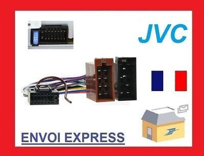 Cable ISO pour autoradio JVC KW-R400 KW-R411 KW-R500 KW-R600BT KW-R611BT KW-R811