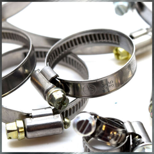 32-50 mm Heavy Duty Stainless Steel Hose Clamps High Quality Pipe Tube Clips 640
