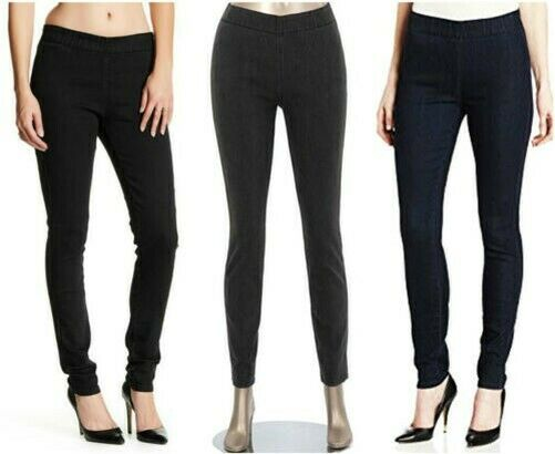 Miraclebody By Miraclesuit Donna Thelma Leggings in Denim Nuova con Etichetta