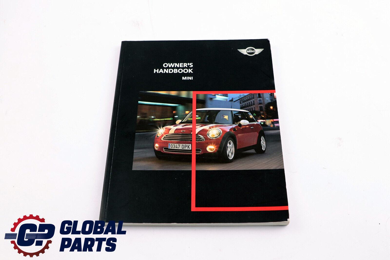 *BMW Mini Cooper R56 R57 Service Booklet Owner/'s Handbook Pouch Case Wallet Set