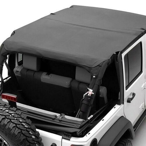 Smittybilt Extended Top Fits Jeep Wrangler JK 2007-2009 4 Door Black S//B94535