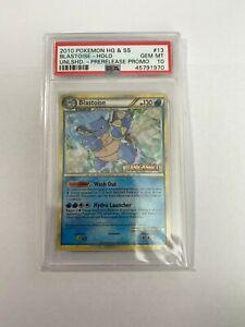 Pokemon-HGSS-BLASTOISE-PRERELEASE-HOLO-Unleashed-13-PSA-10-GEM-MINT