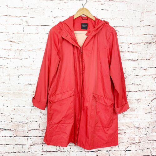 Sanyo New York Samon Trench Coat Womens Size Small