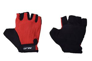 XLC-Mitaines-Track-Mitt-Kids-Cyclisme-Grip-Gants-d-039-ete-leger-rouge-2-Taille