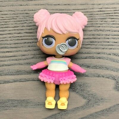 LOL Surprise Confetti Pop Series 3 Wave 1 Opposites Club Doll DAWN RARE