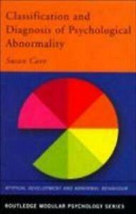 Classification-Und-Diagnostik-Von-Psychologische-Abnormality-Taschenbuch-Susan