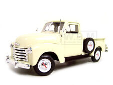 1953 CHEVROLET 3100 PICKUP TRUCK CREAM 1/18 DIECAST MODEL BY WELLY 19836