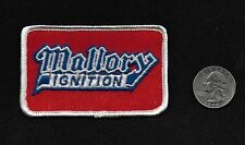 Vintage 60s-70s MALLORY IGNITION Car Vehicle Hot Rod Rockabilly Collectors Patch