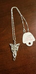 Lord-of-the-Rings-Arwen-Evenstar-Pendant-Necklace-US-SELLER-FREE-SHIP